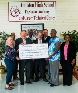 Anniston Fiber Optics PEFA Donation